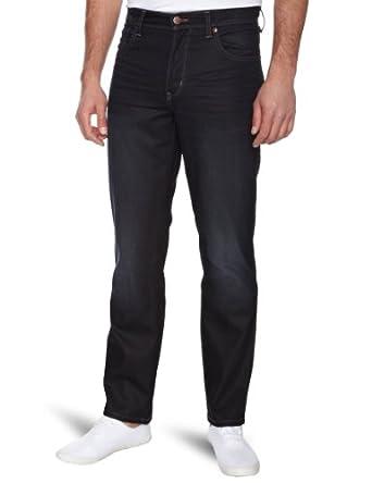 Wrangler Herren Jeans Hoher Bund W121ZX21G/ Texas, Gr. 30/32 (30/32), Blau (Modern Dark 21G)