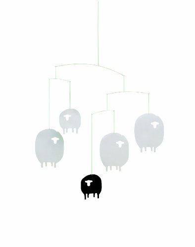Flensted Mobiles Nursery Mobiles, Sheep Mobile - 1