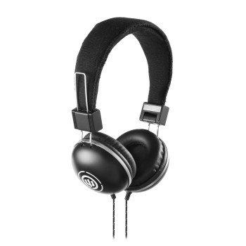 Wicked Audio Evac Collapsible Noise Isolation Headphones W/ Mic - Black