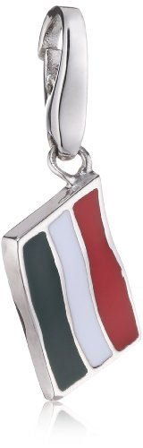 Giorgio Martello Charm Silver 420-806379 Lucky Flag Hungary