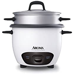 Aroma Arc-743-1ng 3 Cup Rice Cooker (Arc7431ng) Fast Ship