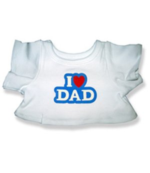"I Love Dad - 2041 Fits 15"" - 16"" bears, includes Build a Bear, The Bear Mill, and Stuff your own Animals. - 1"