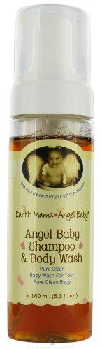 Earth Mama Angel Baby Shampoo And Body Wash - 5.3 Fl Oz