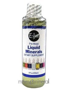 Pre-Mixed Liquid Minerals 8 oz by BodyBio/E-Lyte