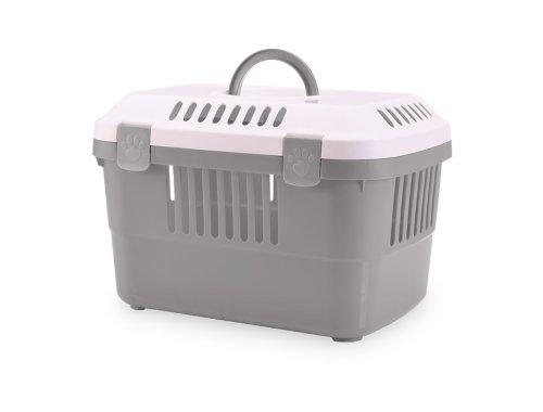 nobby-72140-transportbox-discovery-1-485-x-33-x-235-cm-grau-mit-weissem-deckel