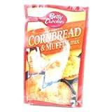 ベティクロッカー コーンブレッド&マフィンミックス 3パック  Betty Crocker Authentic Cornbread & Muffin Mix [並行輸入品]