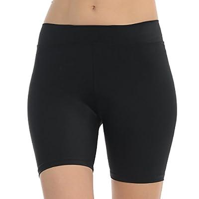 "ANZA Womens 5"" Inseam Dance Shorts Bike Yoga Exercise Shorts"