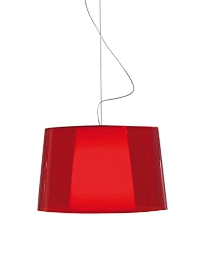 PEDRALI Lámpara De Suspensión L001Sba Rojo