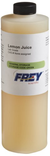 Frey Scientific 579144 Lemon Juice, 500mL
