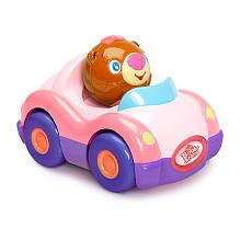 Bright Starts Having a Ball Press & Zoom Pals - Pink Roadster by Kids II - 1