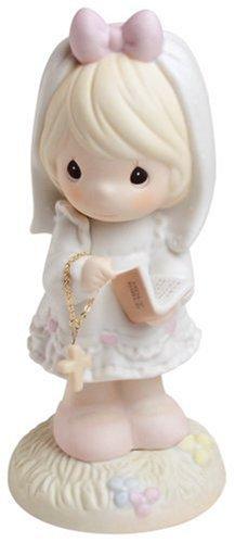 Pretty Little Girl Baptism Figurine