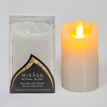 """Candle Impressions 5"""" Flameless Candle Cream"""