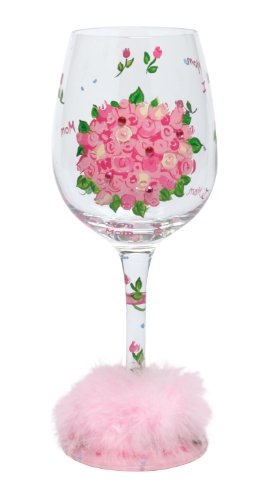 Lolita Love My Wine Glass, Mom's Bouquet