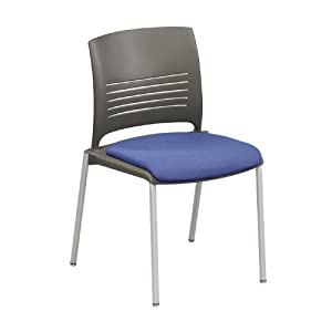 Ki Furniture Cafe Stack Chair With Fabric