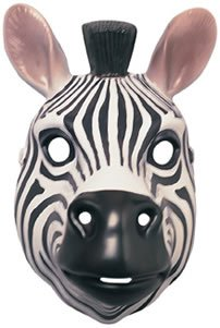Rubie's Costume Co Animal Mask-Zebra Costume