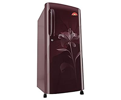 LG GL-B201ASLN Direct-cool Single-door Refrigerator (190 Ltrs, 5 Star Rating, Scarlet Lily)