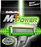 Genuine Gillete Mach M3 Power Razor Replacement Blades Pack of 4