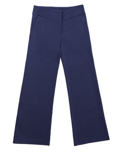 Wide-Leg Ponte Pant by Newport News