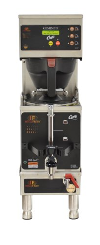 Wilbur Curtis Gemini Single Coffee Brewer, 1.5 Gallon w/IntelliFresh, Dual Voltage - Commercial Coffee Brewer  - GEMSIF63A1000 (Each)
