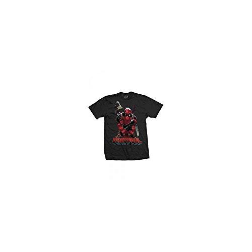 Marvel-Comics-Deadpool-va-a-morir-camiseta-negra-hombres-pequea-oficial