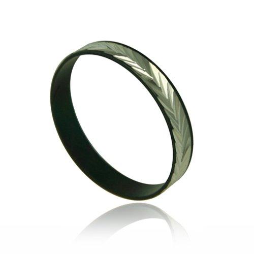 Black Unisex Fashion Children Ring - Size 7.5