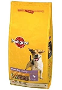 Pedigree Complete Adult Small Dog Food With Beef & Veg 1.5Kg