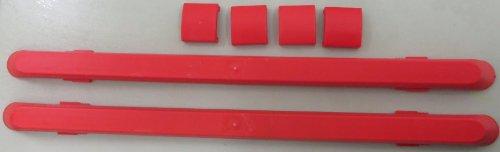 2-Stk-JRIP-Kunststoff-Gleitkufen-mit-Befestigungsclip-Treppenkufen-zur-Sackkarre