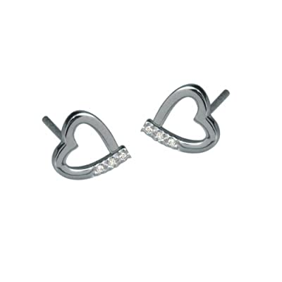 Hot Diamonds Memories Silver And Diamond Earrings
