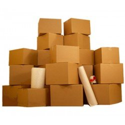 Uboxes 1 Room Economy Moving Kit - 15 Moving Boxes & Moving Supplies: