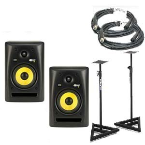 Pair KRK RP5 G2 Rokit Powered Studio Monitor