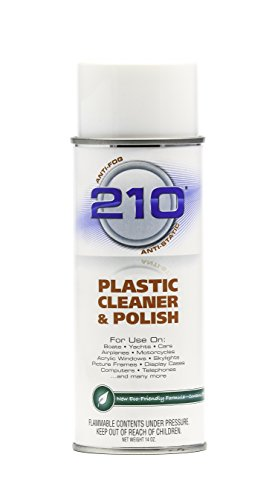 40934 210 Plastic Cleaner/Polish - 14 oz. (Plastic Glass Cleaner compare prices)
