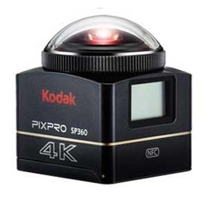 コダック アクションカメラ「SP360 4K」Kodak PIXPRO SP...