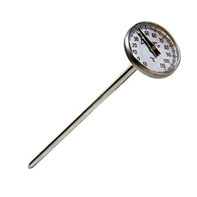 H-B Instrument DURAC Bi-Metallic 25mm Dial Thermometer with Pocket Clip