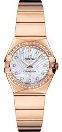 Omega Constellation Mother of Pearl Dial 18kt Rose Gold Ladies Watch 12355246055005
