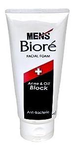 Mens Biore Pickel & Oil Block - tiefe Reinigung der Gesichtshaut