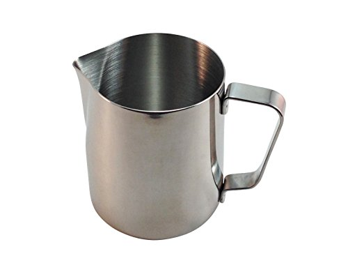 d-Life Stainless Steel Milk Frothing Pitcher (20fl oz) (Stove Top Milk Warmer compare prices)
