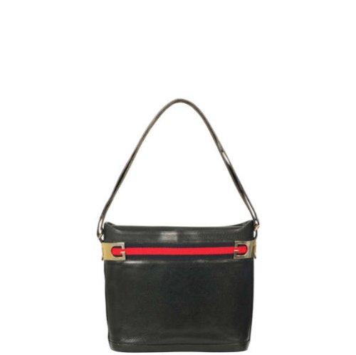 Gucci Vintage Leather Shoulder Bag