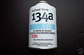 Dupont Freon 134a for Mobile A/c Systems 12 Oz Can
