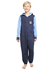 Cotton Rich Manchester City Football Club Hooded Onesie