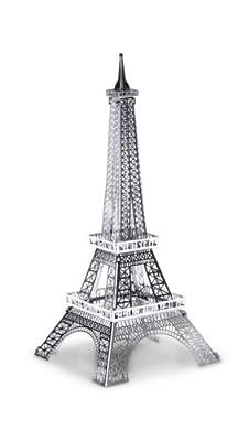 Metal Earth 3D Laser Cut Steel Models - Eiffel Tower AND London Tower Bridge = SET OF 2