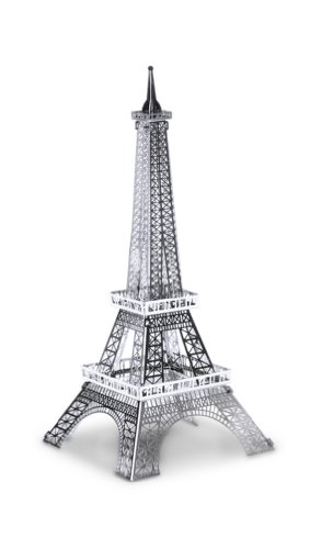 Metal Earth 3D Laser Cut Steel Models - Eiffel Tower AND London Tower Bridge SET OF 2