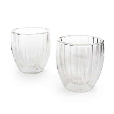 3 Oz Double Walled Cups (Set Of 2) (Limited Edition)