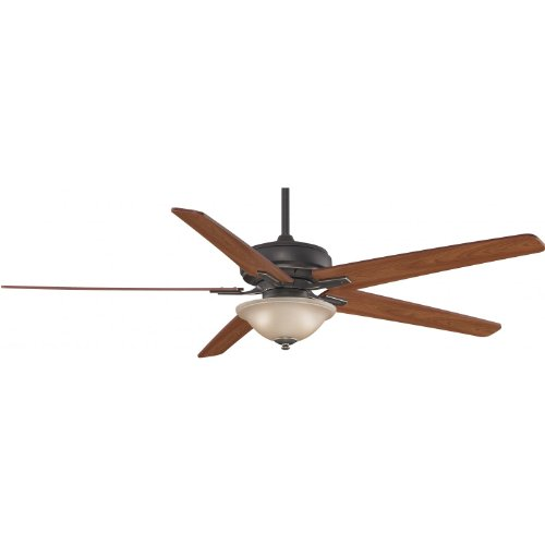Fanimation Keistone 72 Inch Indor Ceiling Fan - Bronze Accent