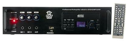 Pyle PD450A Caisson de basses Noir