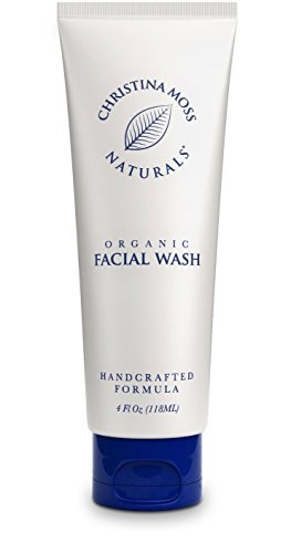 Facial Wash, Organic and 100% Natural Face Cleanser. Skin Clearing Soap, Anti Blemish, Fights Acne, Non Drying, Non Oily. No Harmful Chemicals. For Women and Men. By Christina Moss Naturals. (Natural Facial Cleanser compare prices)