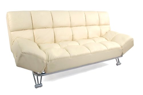 Miliboo divano convertibile 3 posti manhattan beige - Divano letto manhattan ...