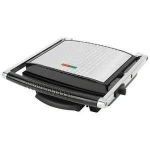 New Maxam 4 Slice Panini Grill Sandwich Press Maker 1500 Watts Non Stick Coating
