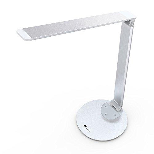 LED-Schreibtischlampe-Metall-TaoTronics-Tageslichtlampe-ultradnne-Aluminiumlegierung-5-Helligkeitsstufen-und-5-Farbtemperaturen-3000K-3500K-4000K-5000K-und-6000K-berhrungsempfindlich-und-blendfrei-Mer