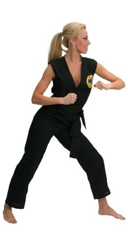 Karate Kid Sassy Cobra Kai Gi Adult Costume
