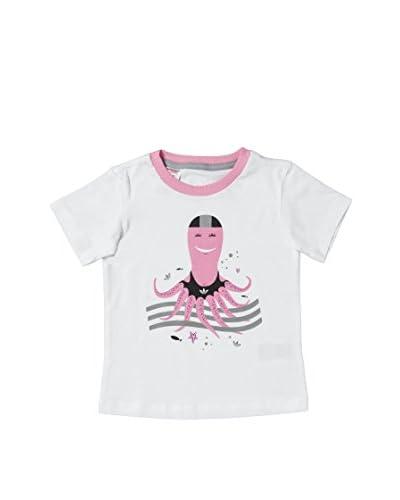 REEBOK T - Shirt I Funoctopustee [Bianco/Rosa]
